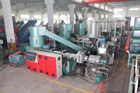 water ring granulating line