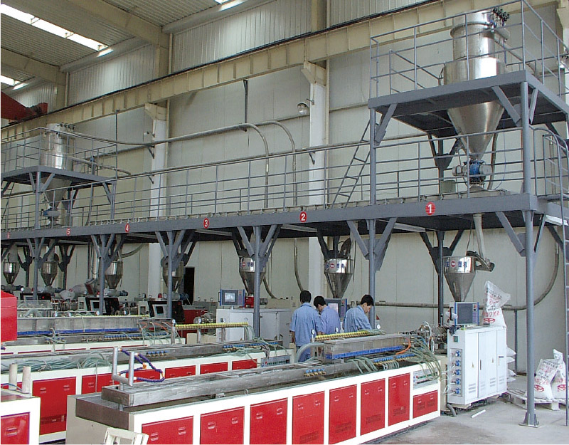 NATIONAL KEY NEW PRODUCT-PVC Automatic Compounding Production LINE