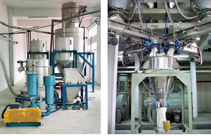 BM Series Powder Material Automatic Compounding Production Line